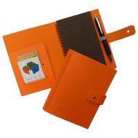 conférenciers A6  Conference pad A6 in Recycled leather
