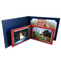 Porte-photos et coffrets cuir recycle