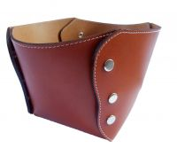 corbeille cuir de buffle Leather Basket