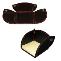 Porte-Notes re-positionnables en cuir de buffle Leather Notepad Holder