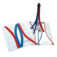 cartes Tour Eiffel miniature en carton Cardboard Eiffel Tower Models